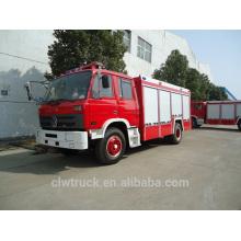 5-6 toneladas Dongfeng tanque de agua de lucha contra incendios camiones