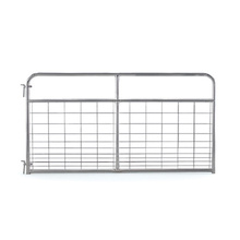 Galvanized Steel Economy Wire Filled Gates para granja