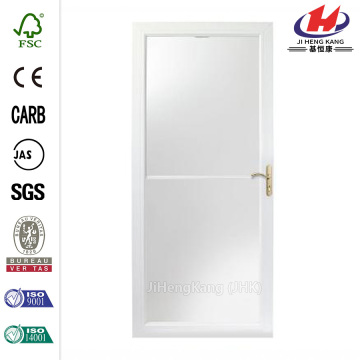 3000 Series White Self-Storing Storm Door