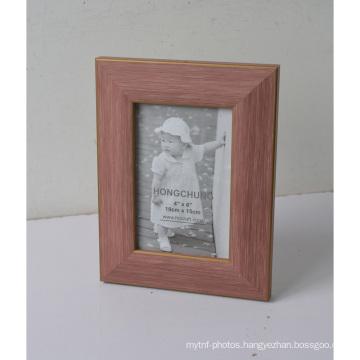 Pink Plastic Frame for Wedding Decoration