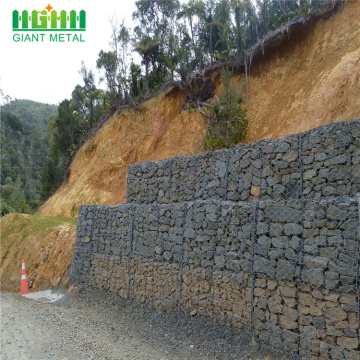 Galvanized wire mesh hexagonal roll gabion