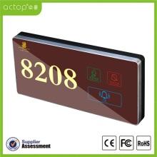 Illuminated Digital Door Plate