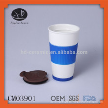 Taza de viaje de cerámica tapa de reemplazo