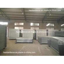 Clôture de tempérament soudé galvanisé robuste de 2,1X2,2 m