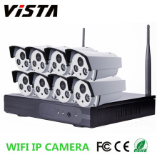 8CH Outdoor Waterproof 960P P2P IP Camera Wifi NVR Kit