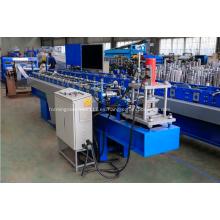 Máquina formadora de rollos de láminas metálicas enrollables de acero