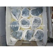 Pedra semi-preciosa natural e coleção de pedras preciosas