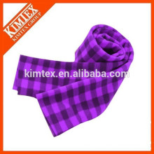 Fashion custom printing polar fleece scarf
