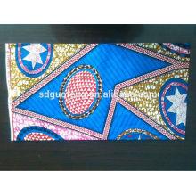 Garantido 100% algodão africano super real tecido estampado de cera