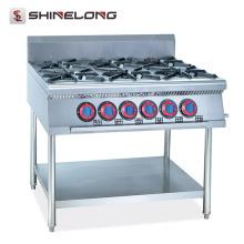 Restaurant et hôtel professionnel en acier inoxydable wok machine à gaz à vendre