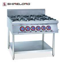 Restaurante e Hotel Professional Stainless Steel Gas wok machine For Sale