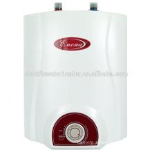 Aquecimento elétrico de água 6L home sob / aquecedores pequenos do dissipador superior