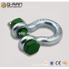 Rigging Steel Shackle/Drop Forged Rigging Steel Shackle
