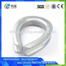 Bs464 Dedal de cable de alambre para el hardware de aparejo