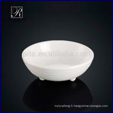 P & T chaozhou porcelaine usine soucoupe plat plat