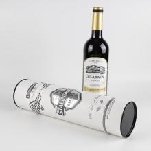 Cardboard Tube Packaging Personalised Red Wine Gift Box