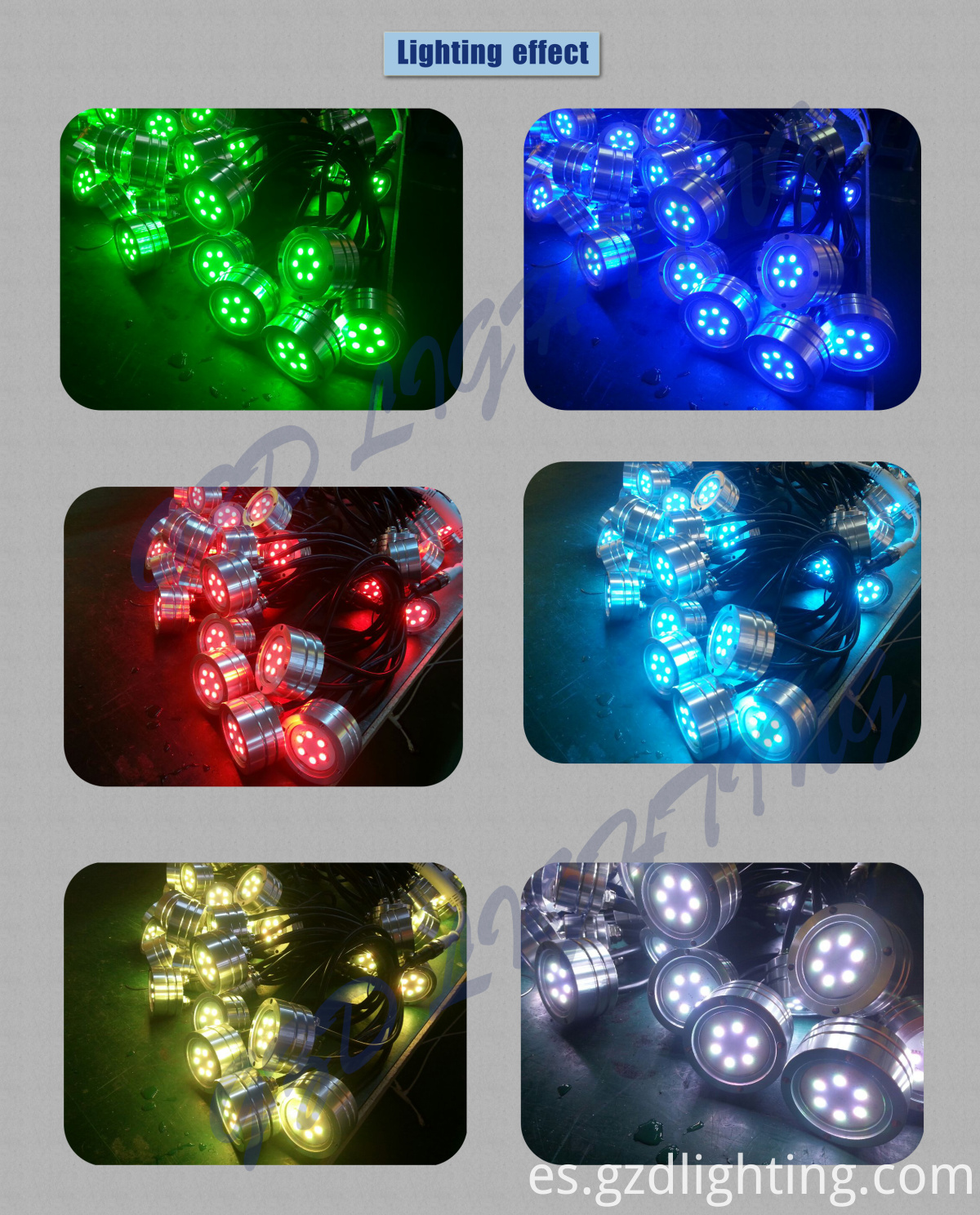 LED SWIMMING POOL LIGHT LIGHTING EFFECT