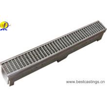 Высококачественный U-образный полимерный бетонный дождевой желоб