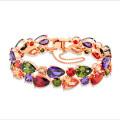 Chain Bracelet Women Zircon Crystal Jewelry