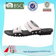 Personalizar sandalias de cuero hombres playa