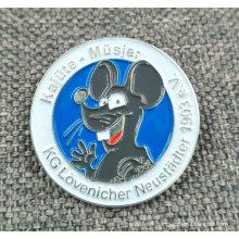 Gros prix direct usine Die Strike émaillé Pin / Badge