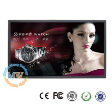 narrow frame slim 50 inch LCD monitor with HDMI DVI VGA input