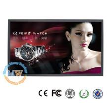 monitor magro do LCD da polegada 50 do monitor estreito com entrada de HDMI DVI VGA