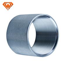 raccord de tuyau d'accouplement fileté en acier inoxydable