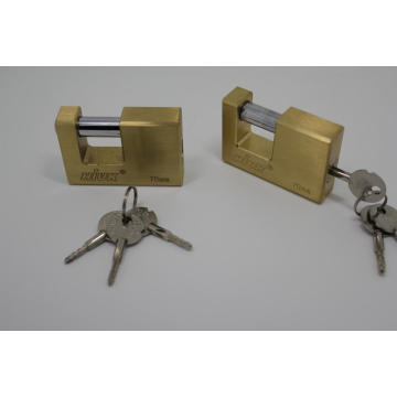 70mm Rectangle laiton cadenas lourds cadenas