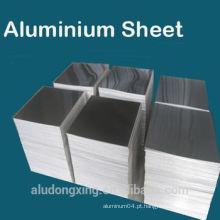 1050 0 Folha de alumínio