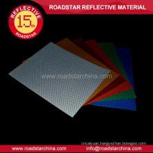 High intensity sticker material reflective vinyl
