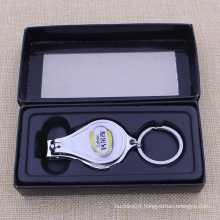 2015 Best Promotional Keychain Nail Clipper with Bottle Opener