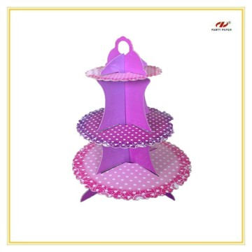 Paperboard Design 3 Tier Cake Stand