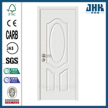 JHK Wood Fancy Molding White Surface Door