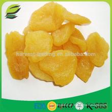 Pêssego seco com frutos naturais preservados