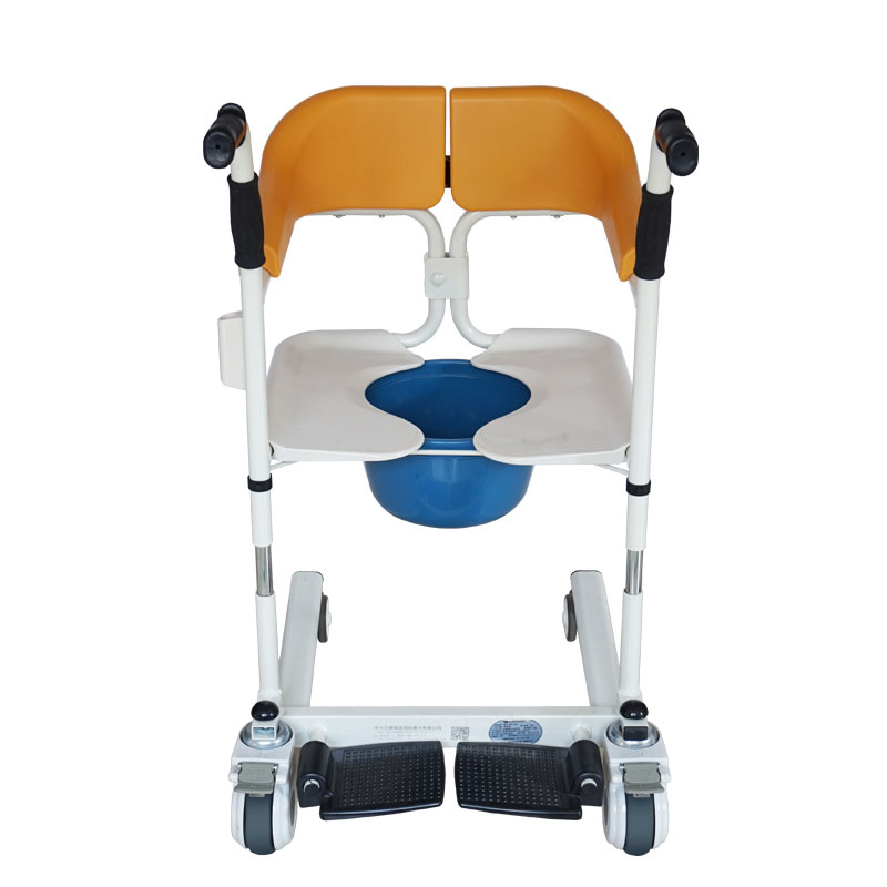 Transfer Chair With Commode 4
