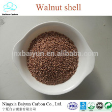 walnut shell grit Oily water treatment walnut shell filter material