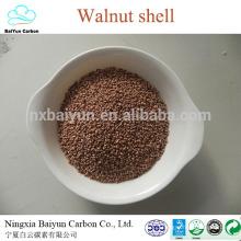 walnut shell grit Oily water treatment walnut shell filter material