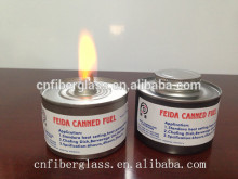 Liquid Chafing fuel with wick