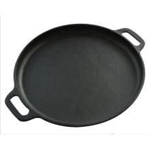Bandeja de ferro fundido de 14 polegadas Amazon Top Selling Pizza pan