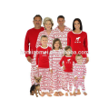 2017 Granel Al Por Mayor Ropa de Niños Niños Niñas Ciervos de Impresión Suave de Algodón Niños Pijamas de Navidad