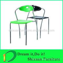 modern stacking metal plastic dinning chair PC-0531