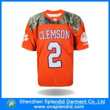 Alta qualidade moda sportswear etiqueta esporte futebol camisa