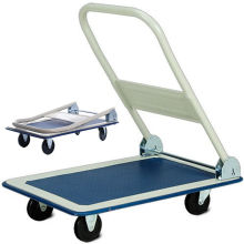 Folding Handle Platform Cart Trolley
