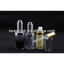 15ml 30ml plastic cosmetic dropper acrylic bottles