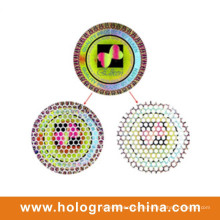 Honeycomb Tamper Evident Laser Hologram Stickers