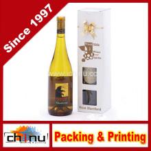 OEM Nuevo bolso de papel personalizado del vino del diseño (2326)