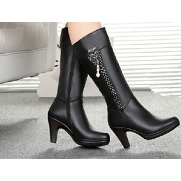 Black New Sexy Women High Heel Boots