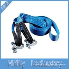 HF-004 Cuerda de remolque de nylon Cuerda de remolque del coche Cuerda de remolque Cuerda de remolque del coche 3T Alta calidad Herramienta de emergencia fuerte Mini