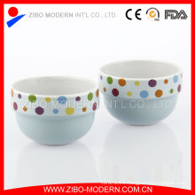 Wholesale Decorate Decal Ceramic Ice Cream Cup